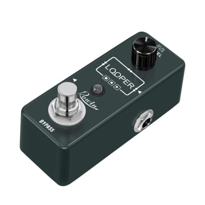 Rowin Looper Guitar Pedal Unlimited Overdubs 10 Minutes of Looping With USB