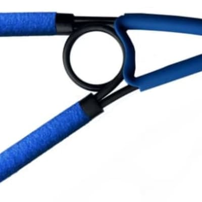 PAIGE Spring Capo for 6 & 12 String Guitar - Blue, PSC-BLU