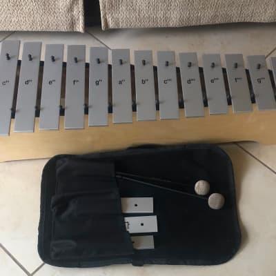 Sonor 2019 Silver Global Beat MSGB Soprano Metallophone