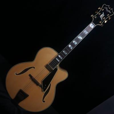 Peerless New York Archtop Electric Guitar Blonde #8393 w original Peerless hard case for sale