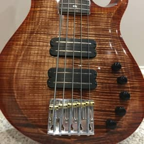 New Paul Reed Smith  PRS 5 string Grainger 10 Plus Bass  2015 tigerwood maple for sale