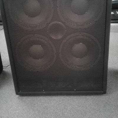 DNA David Nordschow Amplification DNA 800 Bass Head & DNS-410-4ohm Cabinet  2019 Black Carpet