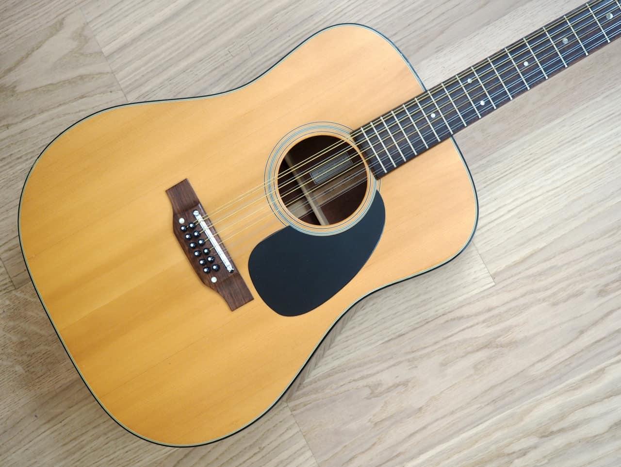 1977 takamine f 385 dreadnought 12 string acoustic guitar reverb. Black Bedroom Furniture Sets. Home Design Ideas