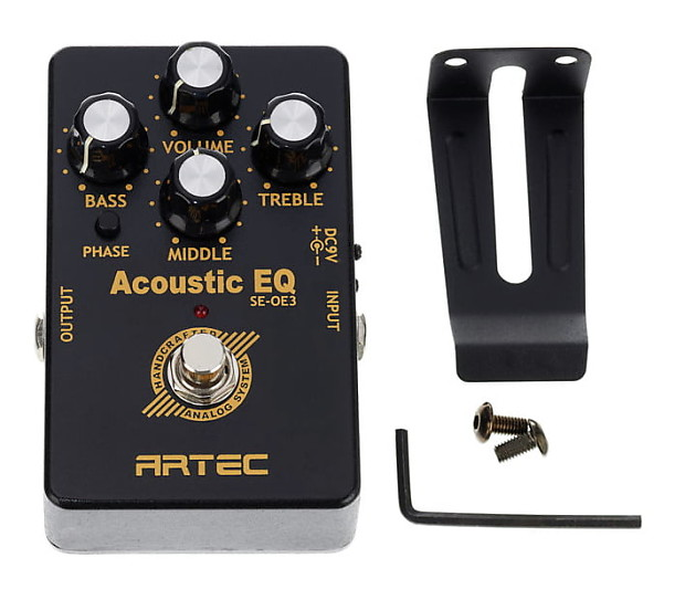 Artec SE-OE3 Outboard 3 band Acoustic EQ for Acoustic Players Fast US Ship!