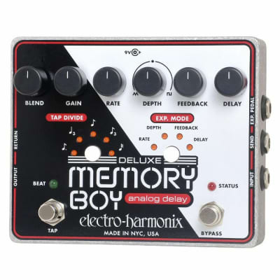 Electro Harmonix Deluxe Memory Boy Analog Delay Pedal for sale