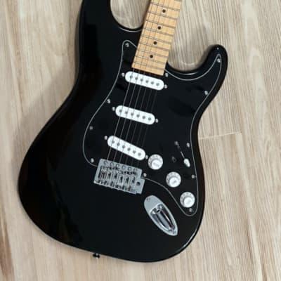 2021 Elite® Stratocaster Style Guitar Turbo w/Blender MOD Black Classic Strat HSS LTD for sale