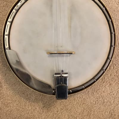 Gold Star Banjo 1981 with Tony Pass TS500 Woody Rim for sale