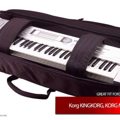 Gator Cases Keyboard Gig Bag for Korg KINGKORG, KORG M1, Krome 61
