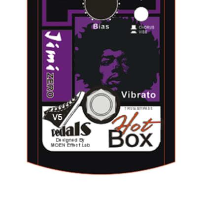 Hot Box Pedals HB-VB5 Vibe/Chorus Guitar VIBE Effect Pedal Ships Free