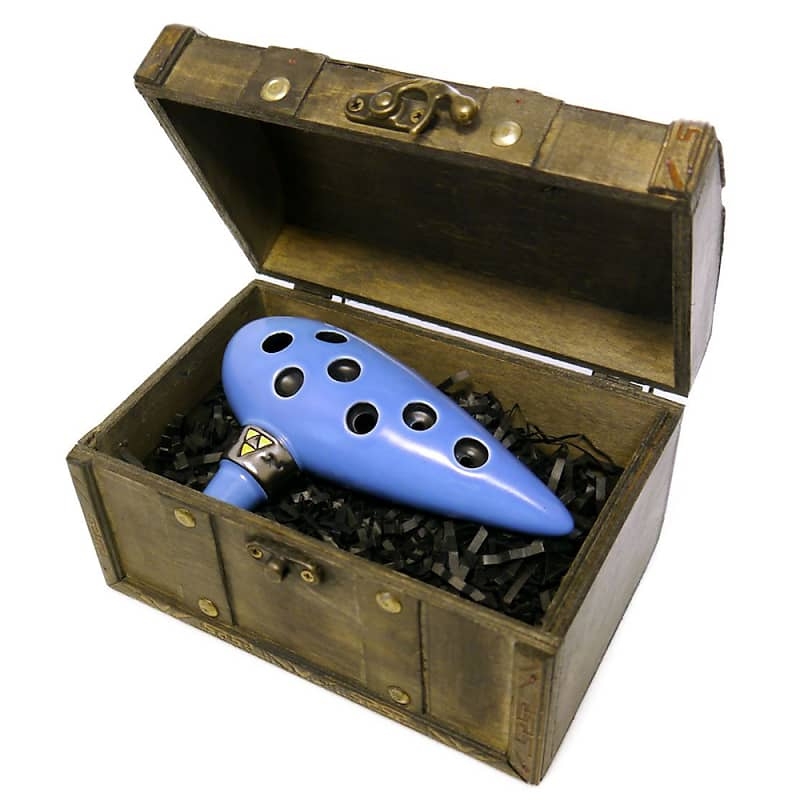 Songbird Ocarina Legend of Zelda Ocarina of Time 7 Hole in Alto C with Chest