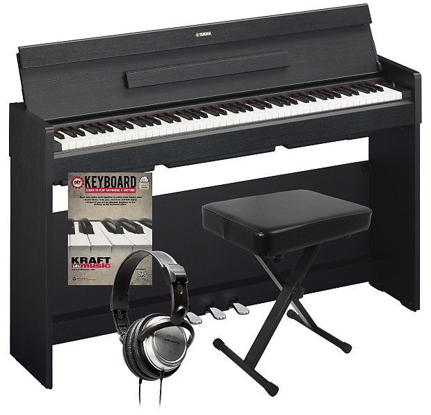 yamaha arius ydp s34 digital piano black walnut home. Black Bedroom Furniture Sets. Home Design Ideas