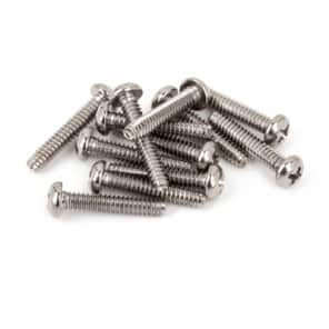 Fender 004-8631-049 Vintage Noiseless Stratocaster / Telecaster Pickup Mounting Screws (12)
