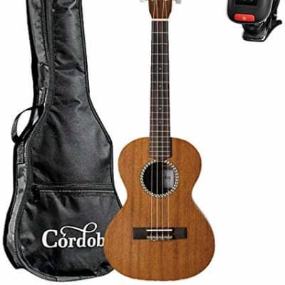 Cordoba 20TM Tenor Ukulele Kit with Gig Bag and Tuner