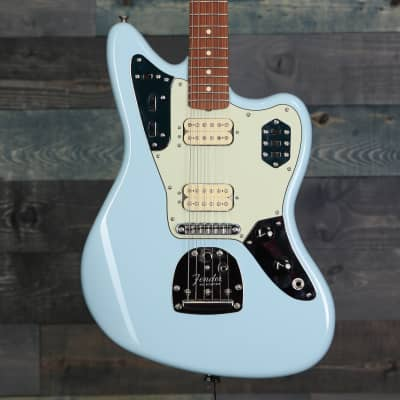 Fender Vintera® '60s Jaguar® Modified HH, Pau Ferro Fingerboard, Sonic Blue for sale