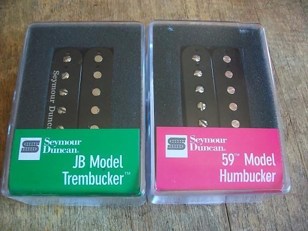Seymour Duncan TB-4 JB Trembucker and sh-1n 59 Humbucker   Reverb