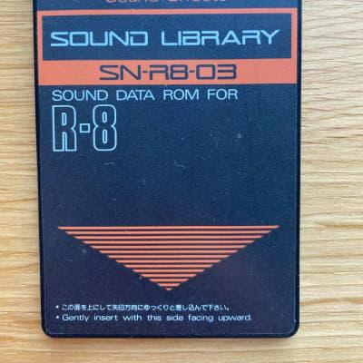 Roland SN-R8-03 Sound Effects 1990s Black