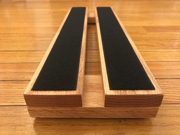 how to attach pedals to pedal board