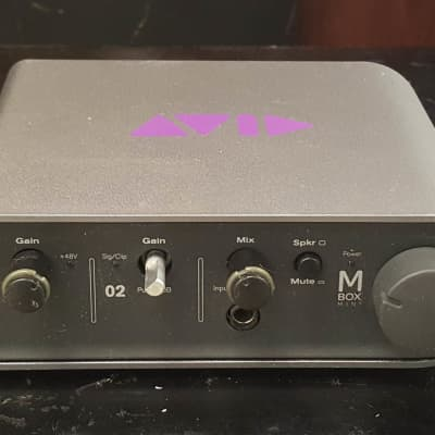 Avid MBox 3 Mini Audio Interface - as-is...
