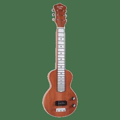 Recording King RG-31 Lap Steel Satin Natural Mahogany for sale