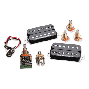 Seymour Duncan AHB-10s Blackouts Modular Coil Pack/Preamp Set Black