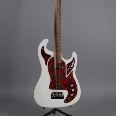 Burns Marquee Bass Six String 1999 White for sale