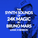 The Synth Sounds Of 24K Magic By Bruno Mars - Logic X Session - Reverb Exclusive