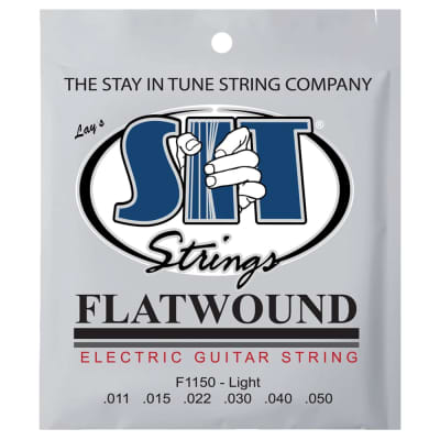 SIT Strings F1150 Light Flatwound Electric Strings .011-.050