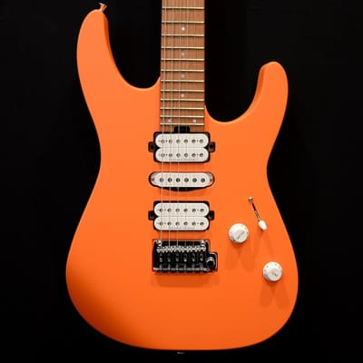 Charvel 2018 Pro-Mod DK24 HSH Electric Guitar Orange Crush Pre-Owned for sale
