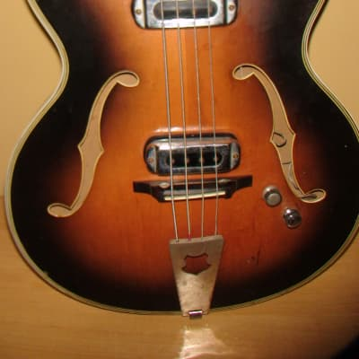 Musima 1655 B GDR Germany Bass Guitar Vintage for sale