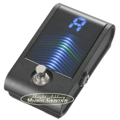 Korg PBCS Pitchblack Custom Pedal Guitar and Bass Tuner for sale