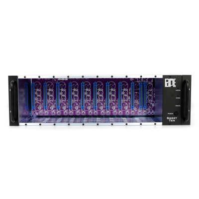 Purple Audio Sweet Ten 10-Slot Powered 500 Series Rack