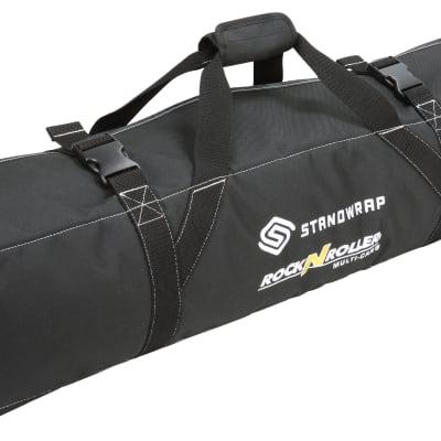"""Rock N Roller Standwrap 4-pocket roll up accessory bag - Large (42"""" pocket length)"""