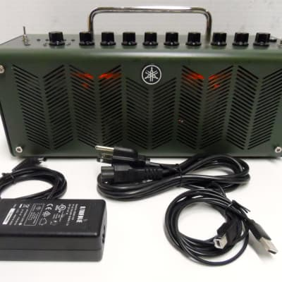Yamaha THR10X 10 Watt Desk Top Mini Guitar Amplifier Hi Gain Amp Portable Modeling Combo Amp EVH EV