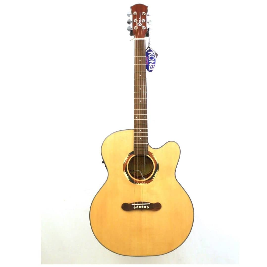 signature series kona jumbo acoustic electric guitar has reverb. Black Bedroom Furniture Sets. Home Design Ideas