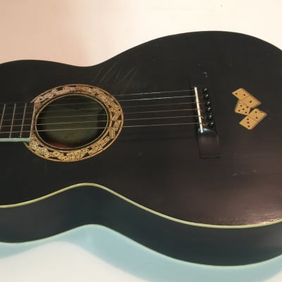 1930's Regal Le Domino Black w/Domino Graphics - all original - collectible for sale