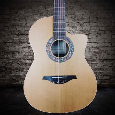 Manuel Rodriguez C11C Classical Guitar with Cutaway in Walnut (Handcrafted in Spain) for sale