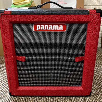 Panama Guitars Tonewood Series 1x12 Speaker Cabinet Red for sale