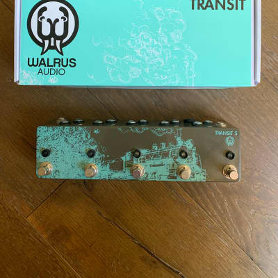 Walrus Audio Transit 5 True-Bypass Switcher / Looper Pedal for sale