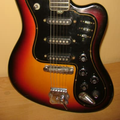 Musima Eterna De Luxe 25 Electric Guitar GDR Vintage and Rare 1973 for sale