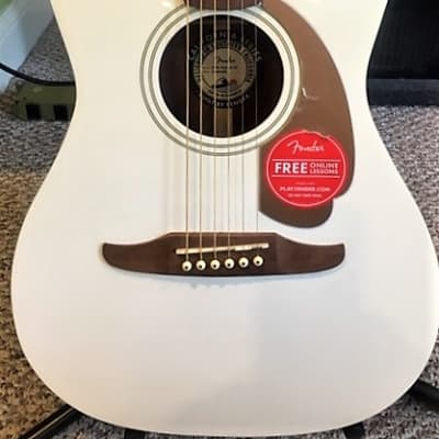 Fender Malibu Player California Series acoustic electric  Arctic Gold