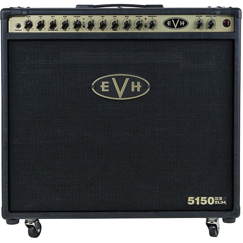 pre order evh 5150iii 50w el34 2x12 guitar amp combo black reverb. Black Bedroom Furniture Sets. Home Design Ideas