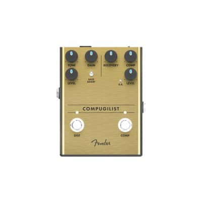 Fender Compugilist Compressor/Distortion Pedal for sale