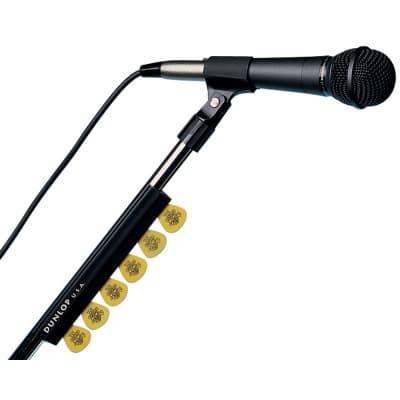 """Dunlop 5010 7"""" Black Mic Stand Pickholder"""