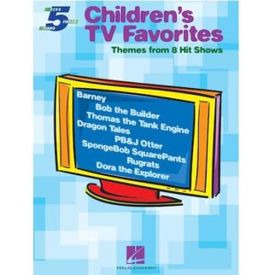 Children's TV Favorites: Themes from 8 Hit Shows - Five-Finger Piano