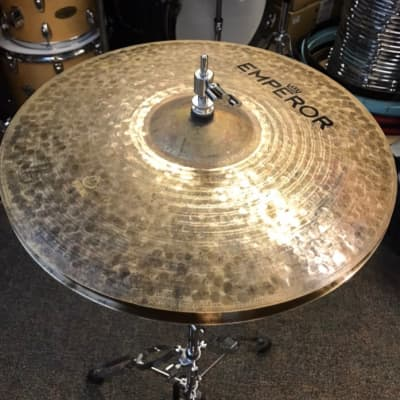 "16"" Natural Light HiHat (pair) by Emperor Cymbals"