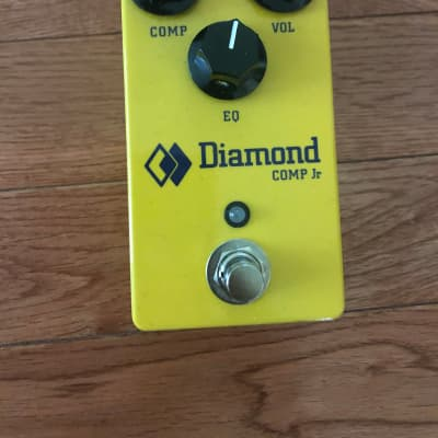 Diamond Comp Jr. Compact Optical Compressor Pedal