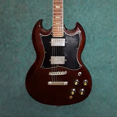 Vintage 70's Bradley SG  Pre-Lawsuit Guitar MIJ Extremely Rare for sale