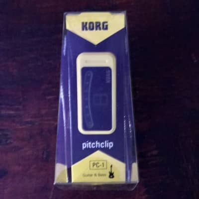 Korg Pitchclip Yellow Clip on Tuner