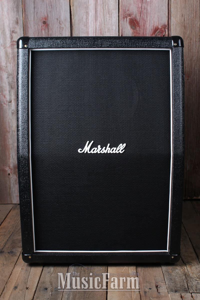 Marshall 2x12 Vertical Slant Guitar Cabinet Marshall