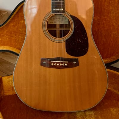 T Haruo  T50 Rare Acoustic Dreadnought Guitar for sale